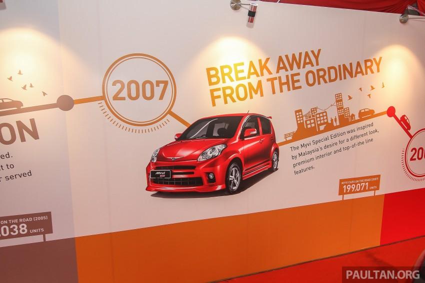 GALLERY: Perodua Myvi – 10 years of moving M'sia Image #342673