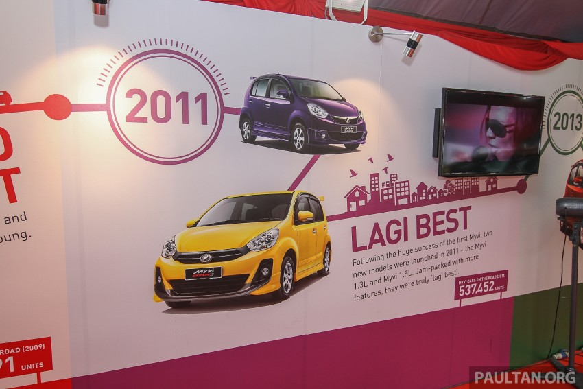 GALLERY: Perodua Myvi – 10 years of moving M'sia Image #342676