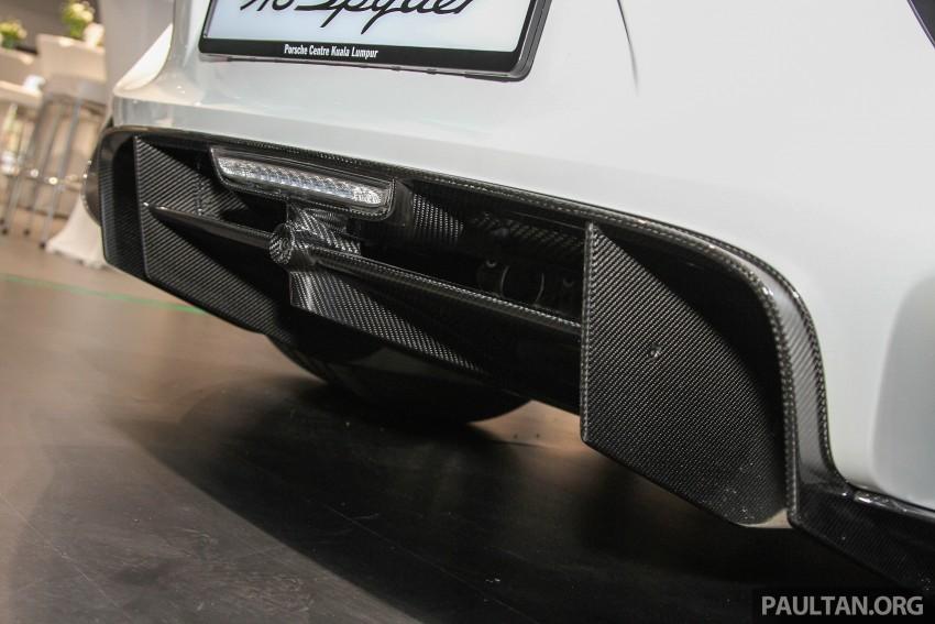 GALLERY: Porsche 918 Spyder hypercar in Malaysia! Image #344402