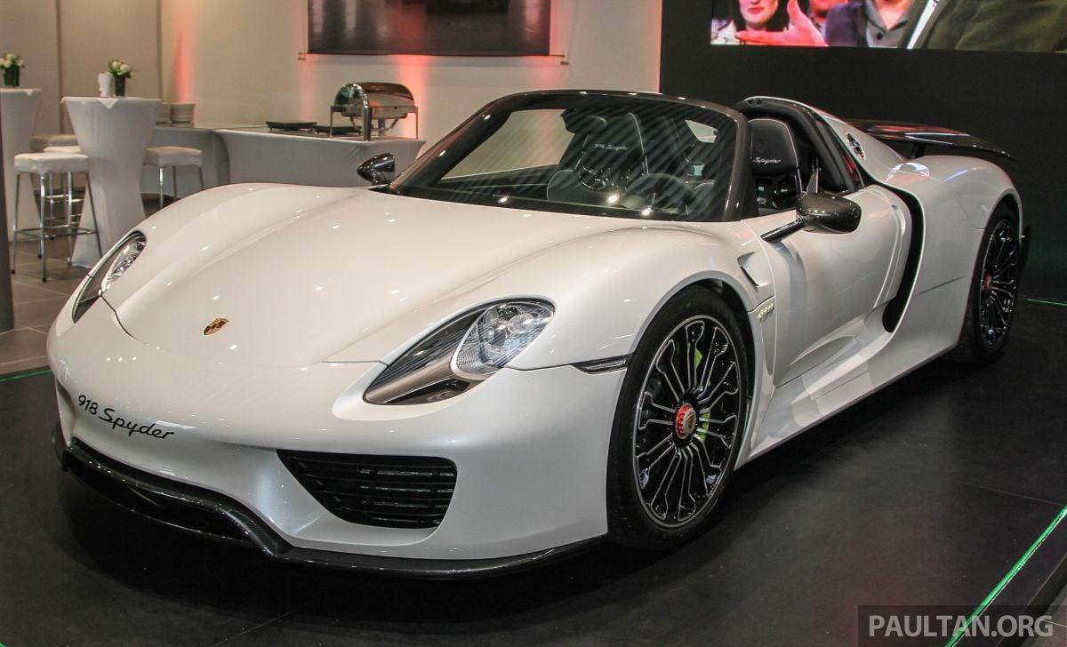 Gallery Porsche 918 Spyder Hypercar In Malaysia Paul Tan