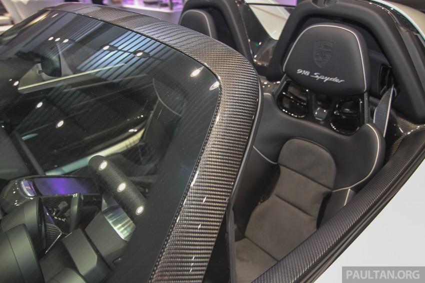 GALLERY: Porsche 918 Spyder hypercar in Malaysia! Image #344414