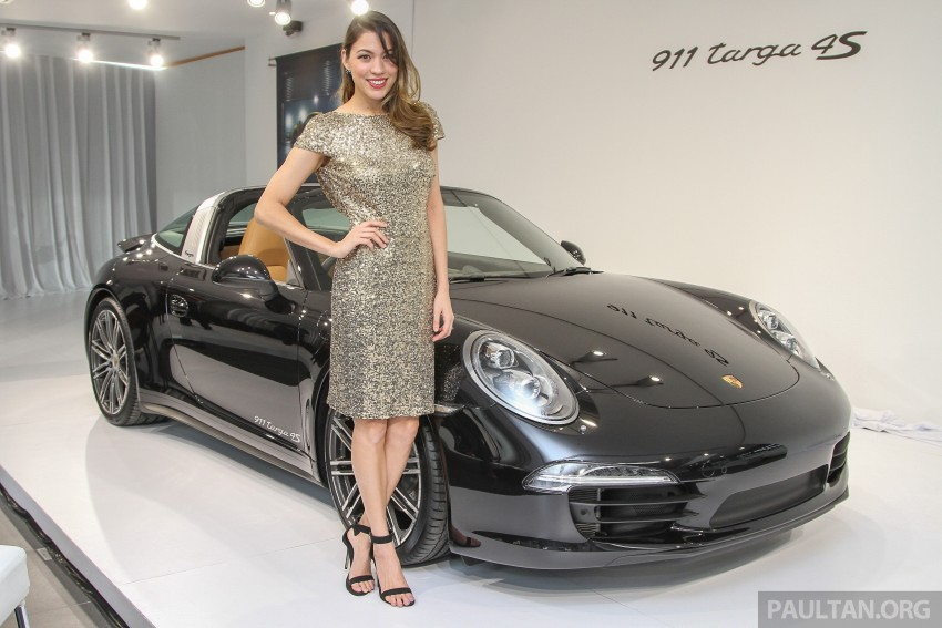 2015 Porsche 911 Targa 4S, Cayenne GTS facelift introduced in Malaysia – order books now open Image #344423