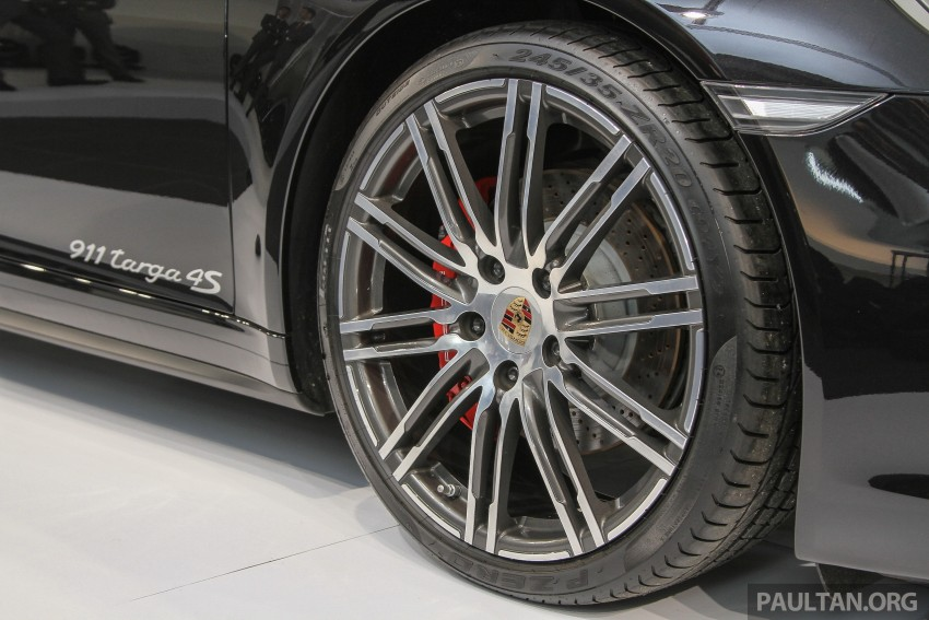 2015 Porsche 911 Targa 4S, Cayenne GTS facelift introduced in Malaysia – order books now open Image #344434