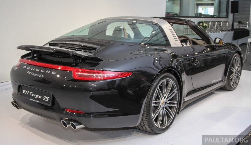 2015 Porsche 911 Targa 4S, Cayenne GTS facelift introduced in Malaysia – order books now open Image #344438