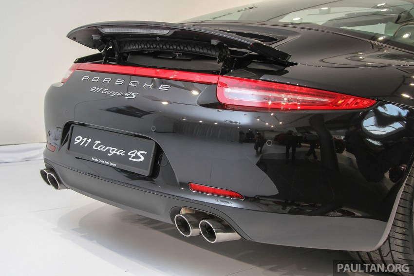 2015 Porsche 911 Targa 4S, Cayenne GTS facelift introduced in Malaysia – order books now open Image #344439