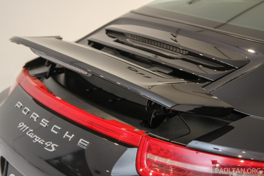 2015 Porsche 911 Targa 4S, Cayenne GTS facelift introduced in Malaysia – order books now open Image #344441