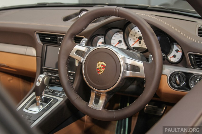 2015 Porsche 911 Targa 4S, Cayenne GTS facelift introduced in Malaysia – order books now open Image #344424