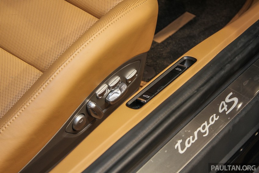 2015 Porsche 911 Targa 4S, Cayenne GTS facelift introduced in Malaysia – order books now open Image #344447