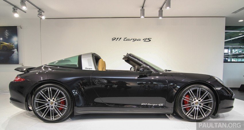 Porsche 991 911 Targa 4s Introduced Malaysia 31on 2015 Porsche 911 Targa