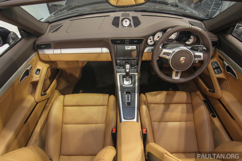 2015 Porsche 911 Targa 4S, Cayenne GTS facelift introduced in Malaysia – order books now open Image #344454
