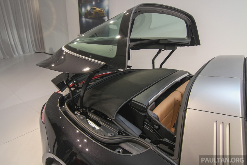 2015 Porsche 911 Targa 4S, Cayenne GTS facelift introduced in Malaysia – order books now open Image #344457