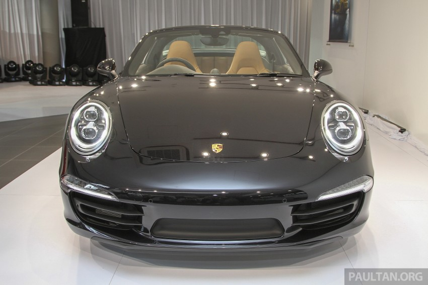2015 Porsche 911 Targa 4S, Cayenne GTS facelift introduced in Malaysia – order books now open Image #344428