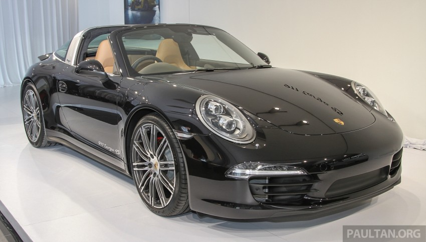 2015 Porsche 911 Targa 4S, Cayenne GTS facelift introduced in Malaysia – order books now open Image #344429