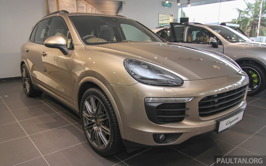 2015 Porsche 911 Targa 4S, Cayenne GTS facelift introduced in Malaysia – order books now open Image #344459