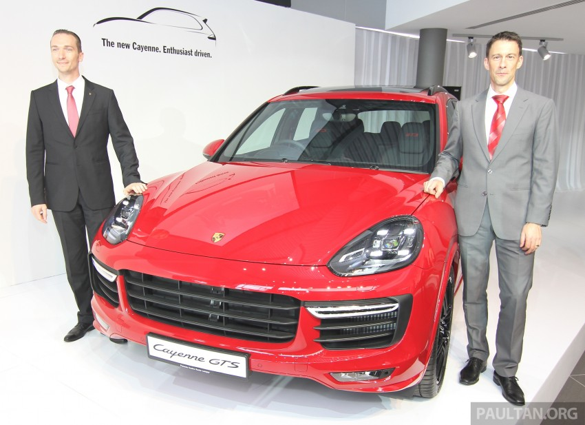 2015 Porsche 911 Targa 4S, Cayenne GTS facelift introduced in Malaysia – order books now open Image #344336
