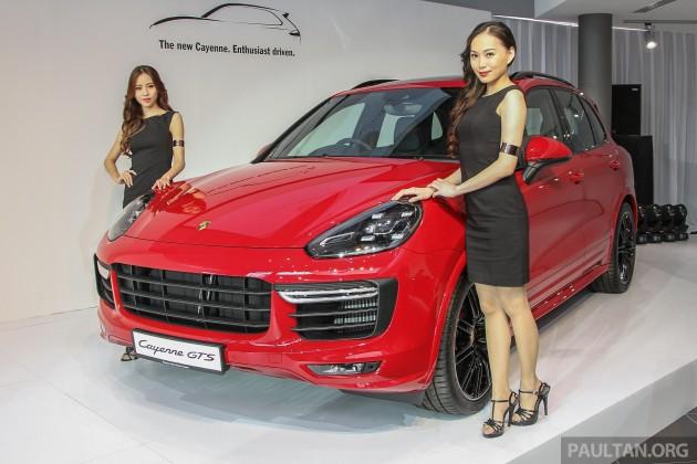 Porsche Cayenne facelift Malaysian prices announced