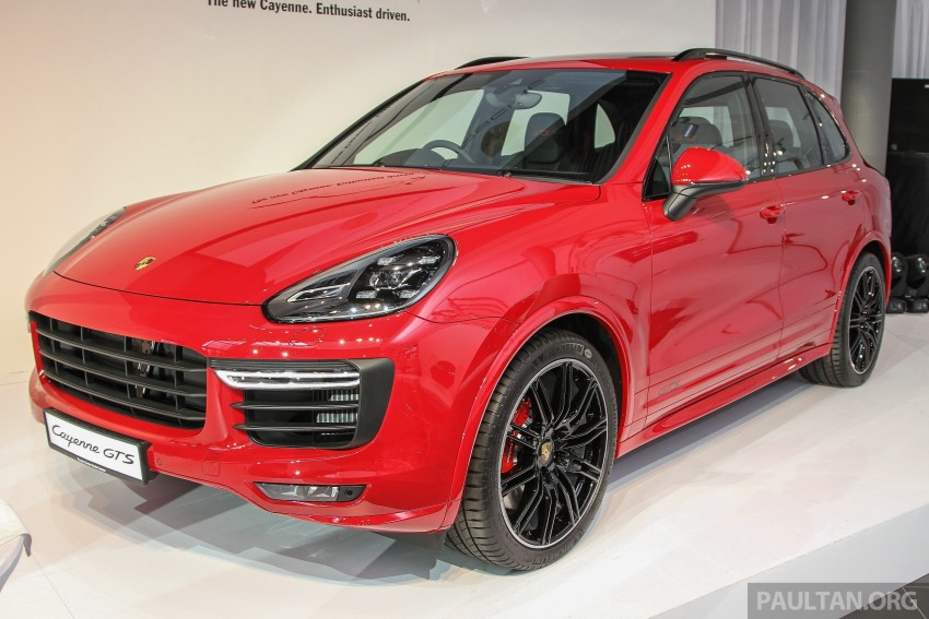 2015 Porsche 911 Targa 4S, Cayenne GTS facelift introduced in Malaysia – order books now open Image #344511