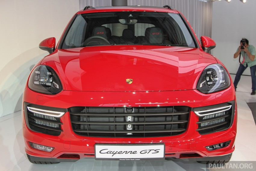 2015 Porsche 911 Targa 4S, Cayenne GTS facelift introduced in Malaysia – order books now open Image #344512