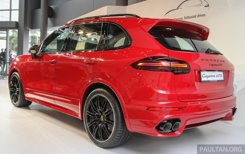 2015 Porsche 911 Targa 4S, Cayenne GTS facelift introduced in Malaysia – order books now open Image #344513