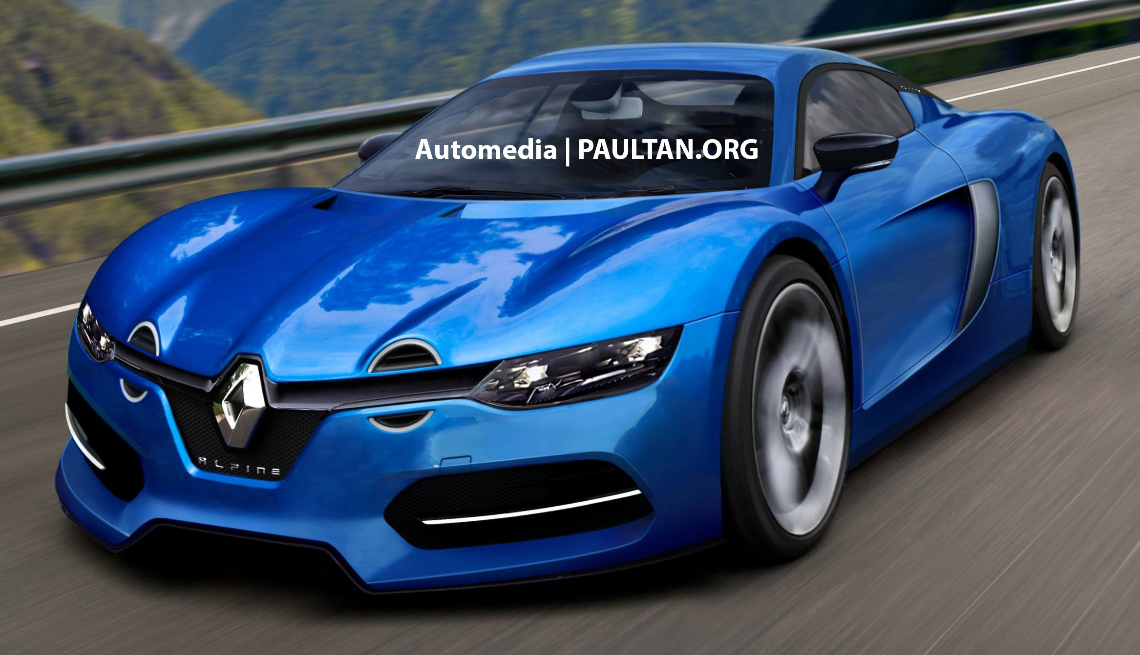 Renault S Alpine Sports Car Inches Ever Closer To