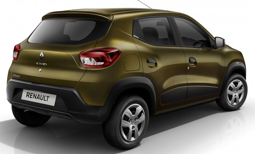 Renault Kwid unveiled – new A-segment crossover Image #341250