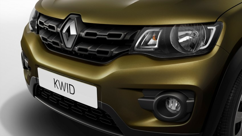 Renault Kwid unveiled – new A-segment crossover Image #341252