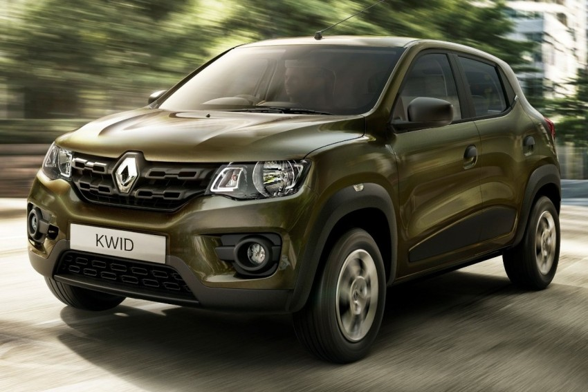 Renault Kwid unveiled – new A-segment crossover Image #341254