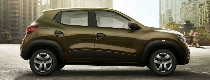 Renault Kwid unveiled – new A-segment crossover Image #341255