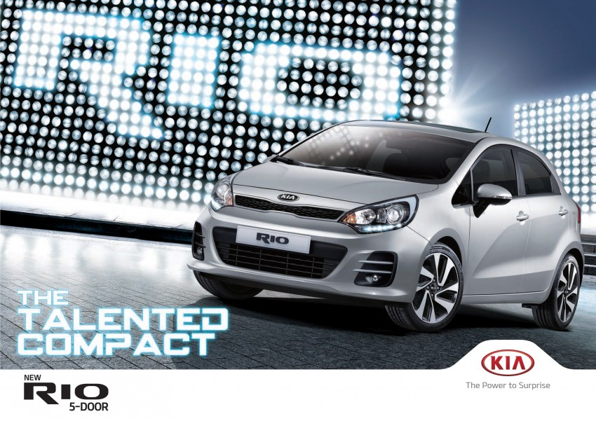 Kia Rio facelift launched in M'sia – 1.4 SX only, RM79k Image #338197