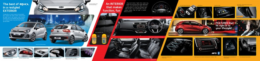 Kia Rio facelift launched in M'sia – 1.4 SX only, RM79k Image #338194