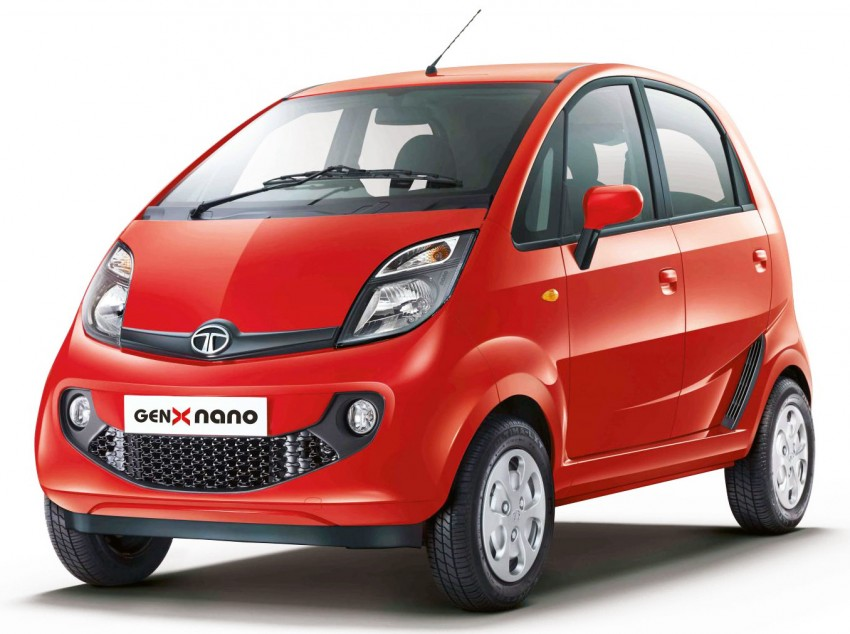 Tata GenX Nano launched in India with AMT, EPAS Image #342099