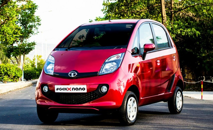Tata GenX Nano launched in India with AMT, EPAS Image #342100