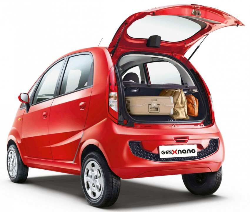 Tata GenX Nano launched in India with AMT, EPAS Image #342101
