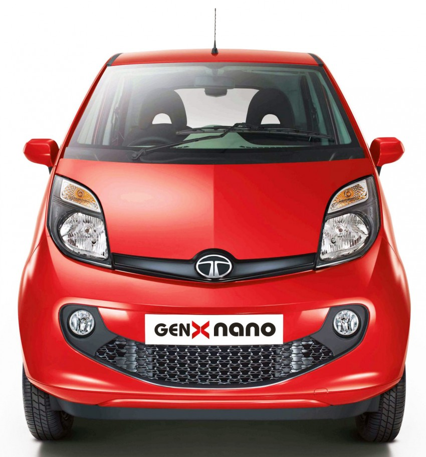Tata GenX Nano launched in India with AMT, EPAS Image #342103