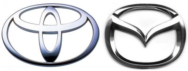 toyota mazda logo