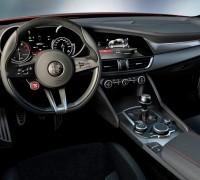 Alfa Romeo Giulia interior