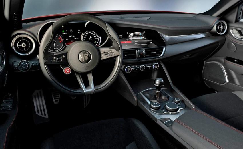 Alfa Romeo Giulia interior leaked, looks fantastic Image #354530