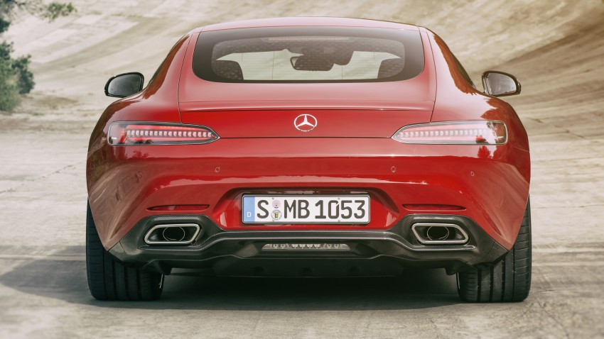 Mercedes-AMG GT-S spotted on a transporter in KL Image #346883