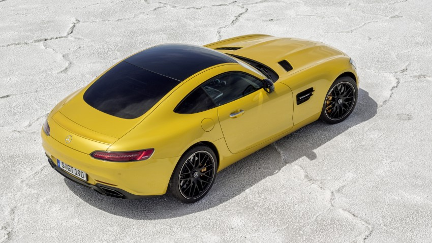 Mercedes-AMG GT-S spotted on a transporter in KL Image #346888