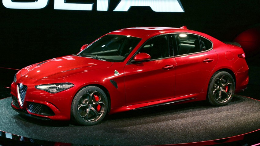 Alfa Romeo Giulia unveiled – RWD with up to 510 hp Image #354040