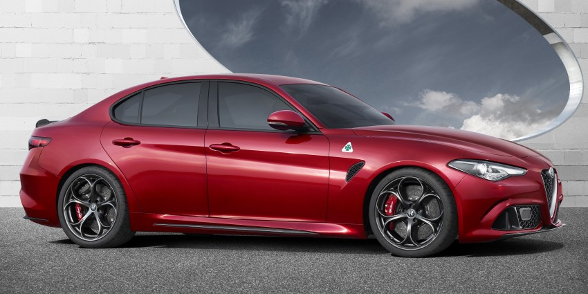 Alfa Romeo Giulia unveiled – RWD with up to 510 hp Image #354045