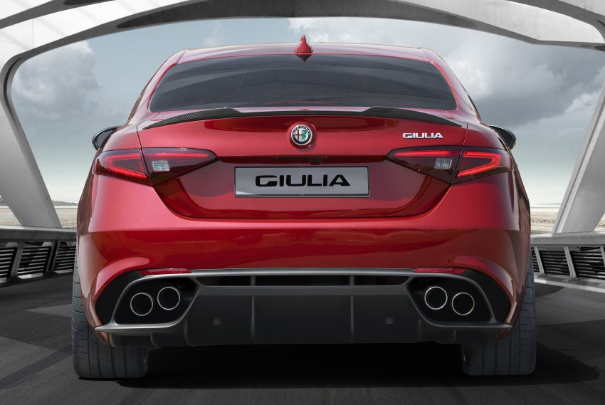 Alfa Romeo Giulia unveiled – RWD with up to 510 hp Image #354041