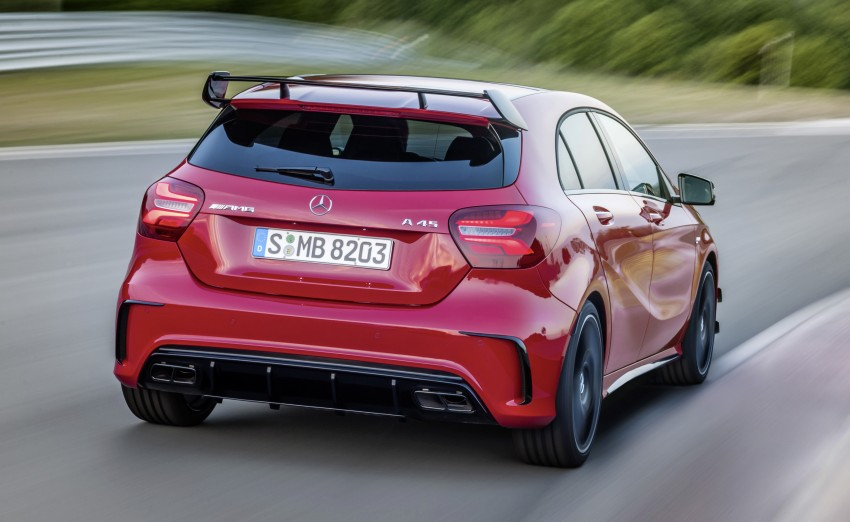 Mercedes-AMG A 45 facelift gets 381 hp and 475 Nm Image #354929