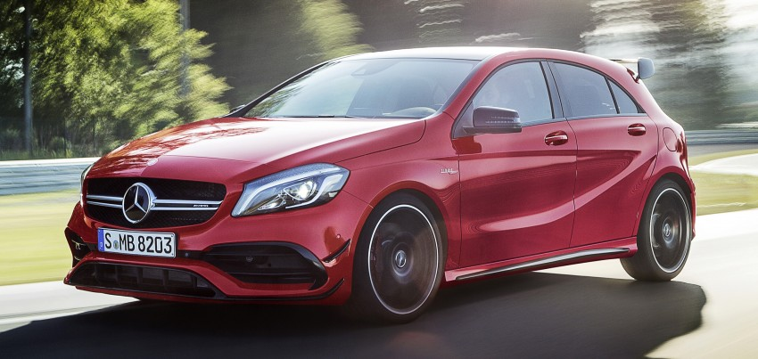 Mercedes-AMG A 45 facelift gets 381 hp and 475 Nm Image #354931