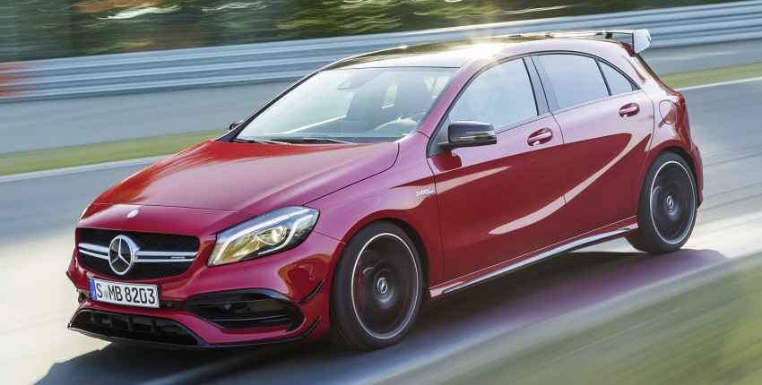 Mercedes-AMG A 45 facelift gets 381 hp and 475 Nm Image #354932