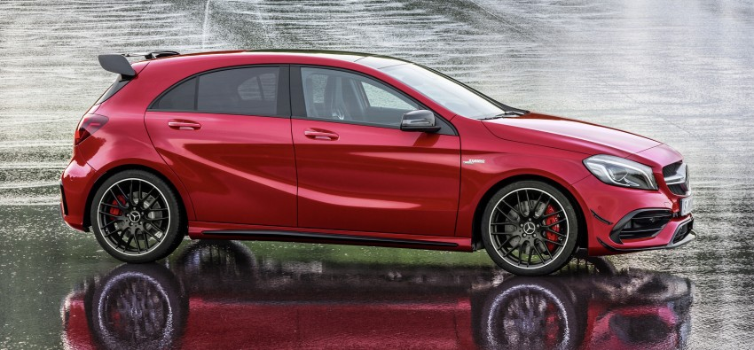 Mercedes-AMG A 45 facelift gets 381 hp and 475 Nm Image #354934