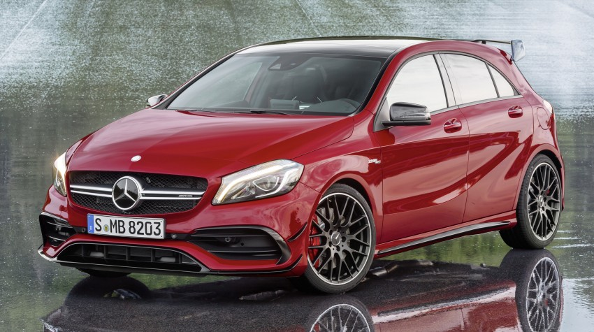 Mercedes-AMG A 45 facelift gets 381 hp and 475 Nm Image #354936