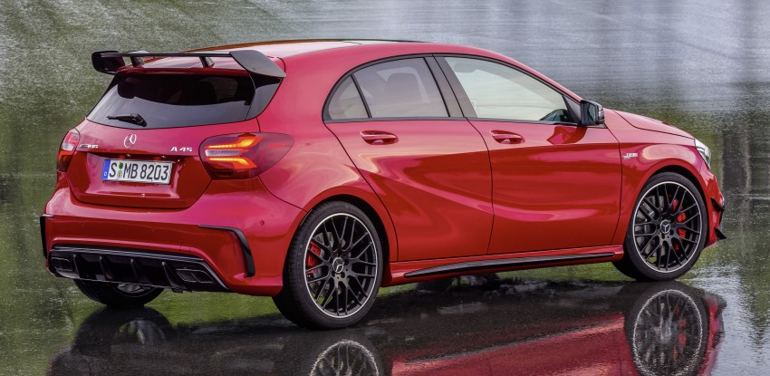 Mercedes-AMG A 45 facelift gets 381 hp and 475 Nm Image #354937