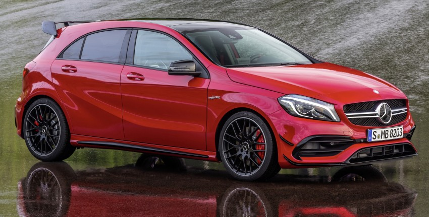 Mercedes-AMG A 45 facelift gets 381 hp and 475 Nm Image #354938
