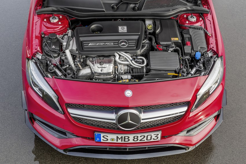 Mercedes-AMG A 45 facelift gets 381 hp and 475 Nm Image #354939